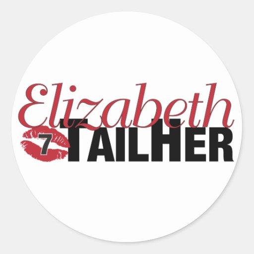 Elizabeth TailHer - Sticker