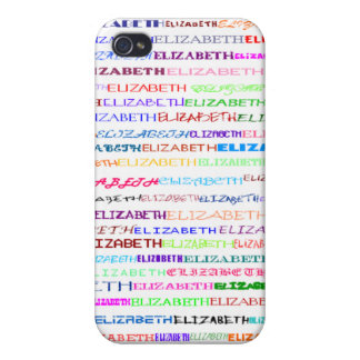 Elizabeth Text Design II  Cover For iPhone 4