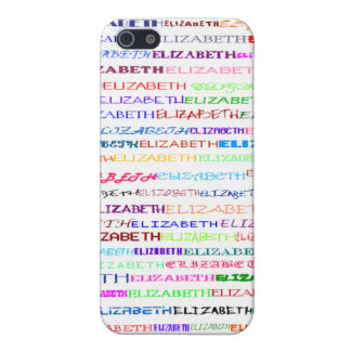 Elizabeth Text Design II  iPhone SE/5/5s Cover