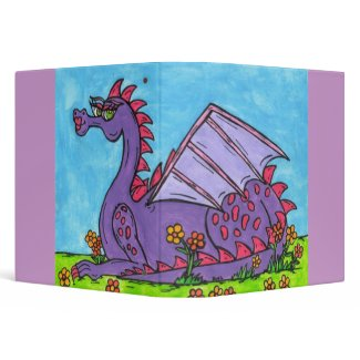 Elizabeth the Dragon binder 2 binder