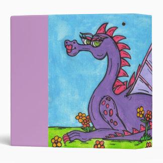 Elizabeth the Dragon binder 2