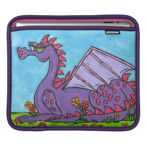 Elizabeth the Dragon iPad Sleeve