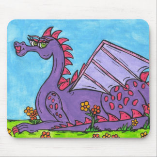 Elizabeth the Dragon Mouse Pads