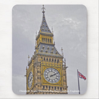 Elizabeth Tower (Big Ben) London, England, UK Mouse Pad