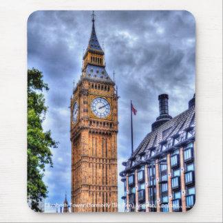 Elizabeth Tower (Big Ben) London, England, UK Mouse Pads