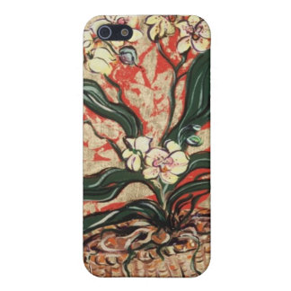 Elizabeth Van Riper- Midas Orchids iPhone 5/5S Covers