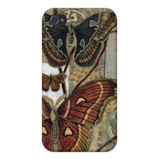 Elizabeth Van Riper-Moth Milieu iPhone 4 Covers