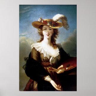 Elizabeth Vigee-Le Brun ~ Self Portrait Poster