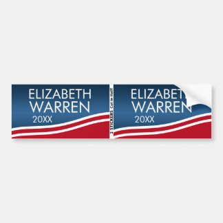 Elizabeth Warren 2016 BOGO Pegatina Para Auto