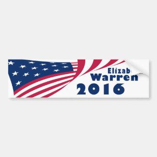 Elizabeth Warren 2016 Pegatina Para Auto