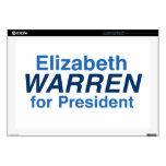 Elizabeth Warren 2016 Portátil Skin
