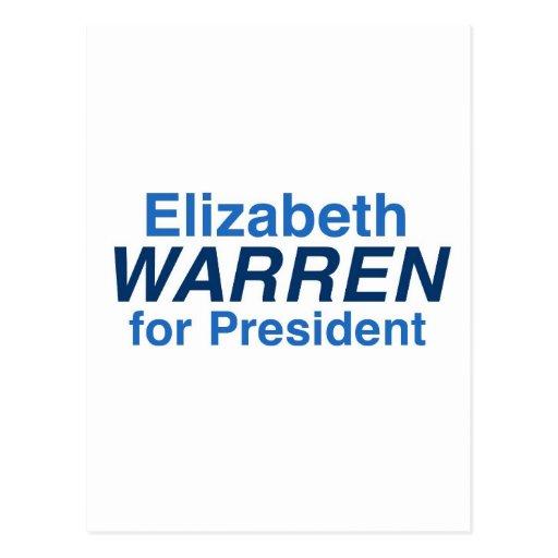 Elizabeth Warren 2016 Postales