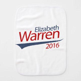 ELIZABETH WARREN 2016 SWOOSH BURP CLOTHS