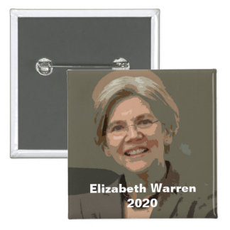 Elizabeth Warren 2020 Pinback Button