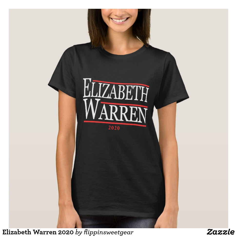 Elizabeth Warren 2020 T-Shirt - Best Selling Long-Sleeve Street Fashion Shirt Designs