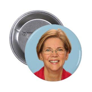 elizabeth warren 2 inch round button