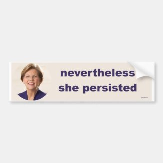 Elizabeth Warren Bumper Sticker