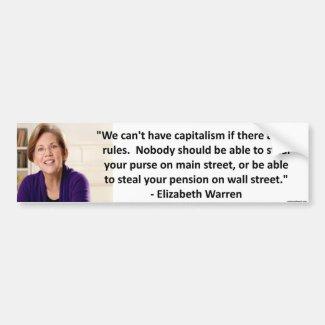 Elizabeth Warren - capitalism