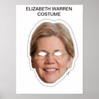 Elizabeth Warren Costume Poster