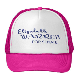 Elizabeth Warren for Massachusetts Senate Cap Trucker Hat