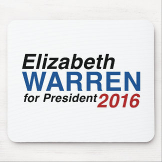 Elizabeth Warren for President 2016 Mouse Pad