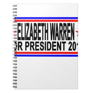ELIZABETH WARREN FOR PRESIDENT 2016 Tee Shirts.png Notebook