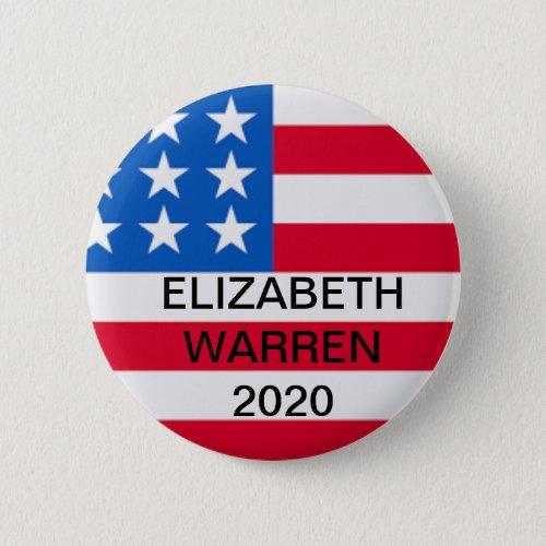 Elizabeth Warren for President 2020 Button