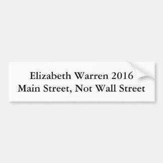 Elizabeth Warren for President! Bumper Sticker