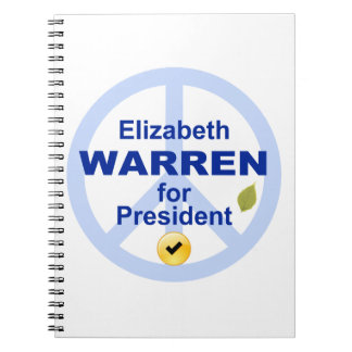 Elizabeth Warren for President Notebook