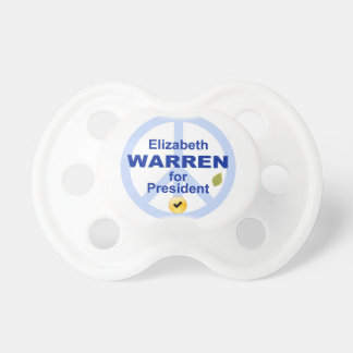 Elizabeth Warren for President Pacifier