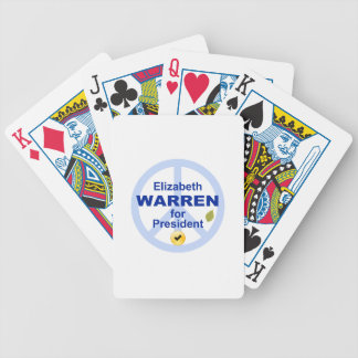 Elizabeth Warren for President Bicycle Playing Cards