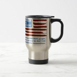 Elizabeth Warren for President Travel Mug