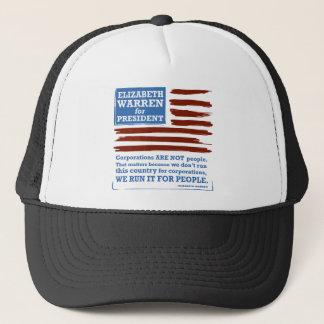 Elizabeth Warren for President Trucker Hat