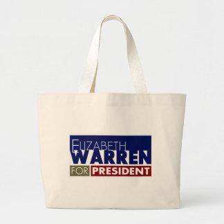 Elizabeth Warren for President V1 Canvas Bags