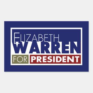 Elizabeth Warren for President V1 Rectangular Stickers