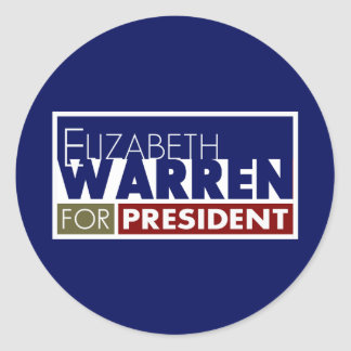 Elizabeth Warren for President V1 Stickers