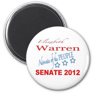 Elizabeth Warren for Senate 2012 2 Inch Round Magnet