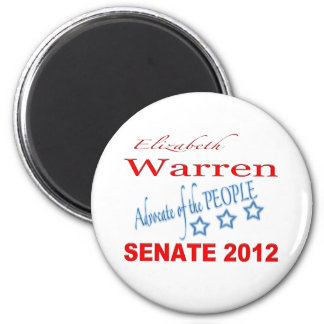 Elizabeth Warren for Senate 2012 Magnet