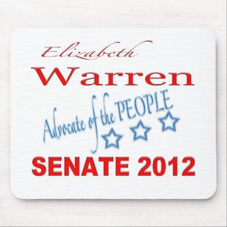 Elizabeth Warren for Senate 2012 Mouse Pad