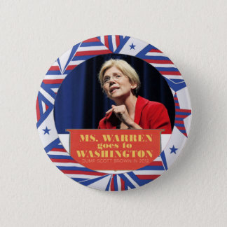 Elizabeth Warren for Senator 2012 Button