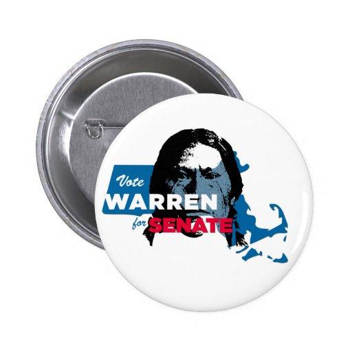 Elizabeth Warren Indian Parody button