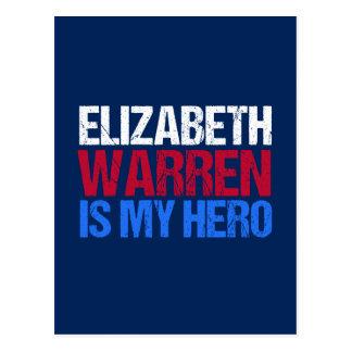 Elizabeth Warren is My Hero Postcard