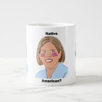 Elizabeth Warren - Native American? Large Coffee Mug