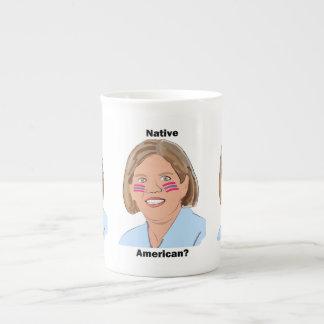 Elizabeth Warren - Native American? Tea Cup