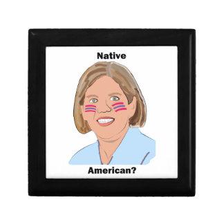 ¿Elizabeth Warren - nativo americano Caja De Regalo