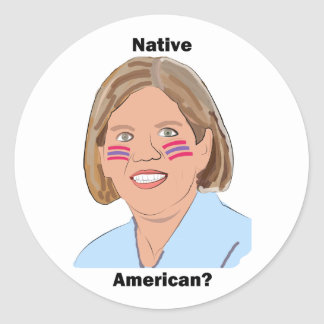 ¿Elizabeth Warren - nativo americano Etiqueta