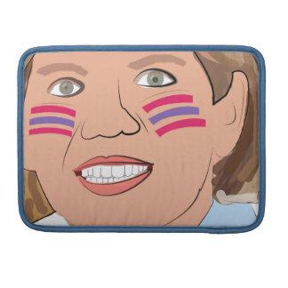¿Elizabeth Warren - nativo americano Fundas Para Macbooks