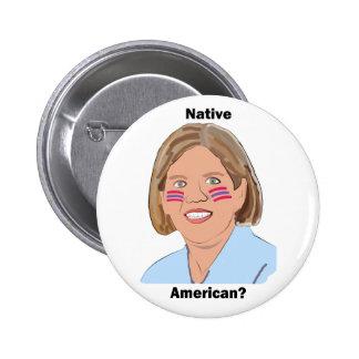 ¿Elizabeth Warren - nativo americano Pin