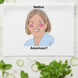 ¿Elizabeth Warren - nativo americano Toallas