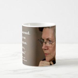 Elizabeth Warren - Nevertheless, She Persisted Coffee Mug
